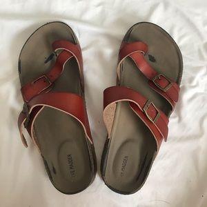 Steve Madden Footbed Sandals